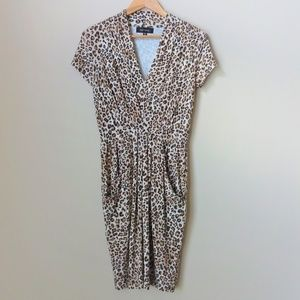 Karen Kane Leopard Print Dress